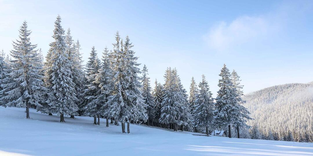 Winterbild für Wärmepumpen