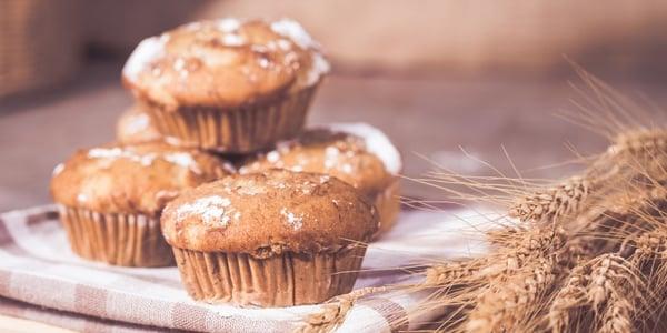 Banana and Pearl Millet Cupcakes