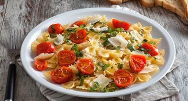 organic-cherry-tomato-&-basil-pasta-recipe