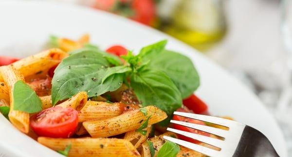 Organic Cherry Tomato & Basil Pasta Recipe