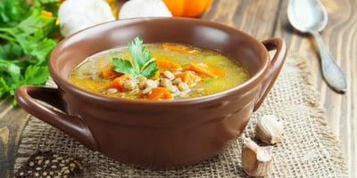 VPumpkin Lentil Maca Soup