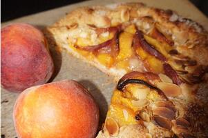 Perfect-Plant-Based-Almond-Peach-Galette