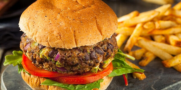 Gluten-Free Vegan Black Bean Burger Recipe