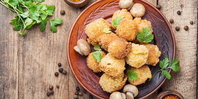 VAir Fryer Vegan Fried Chicken
