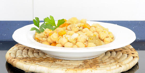 How To Make Instant Pot Middle East Chickpea Stew