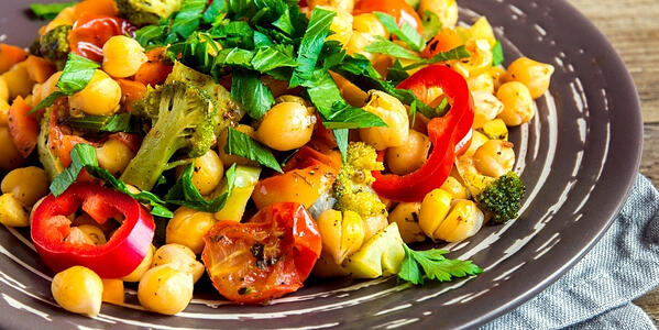 How To Make Super Simple Chickpea Salad