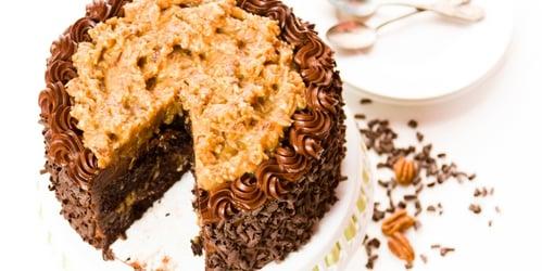 how-to-make-vegan-german-chocolate-pecan-cake