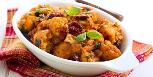 sweet-and-spicy-orange-cauliflower-bowl