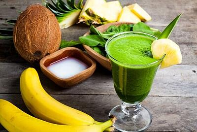 VPiña Colada Superfood Smoothie