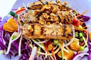 Vegan-Grilled-Tofu-Satay-on-Zucchini-Slaw-Salad