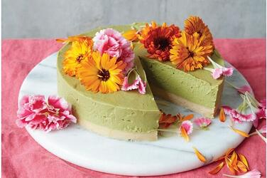 Superfood-Matcha-Lime-Cheesecake-GF-DF-Plant-Based-Vegan