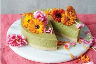 VMatcha Lime Cheesecake