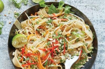 V Quick & Easy Vegan Pad Thai
