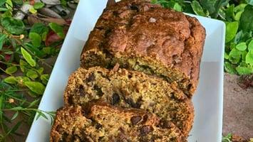 Best Gluten Free Vegan Banana Bread with No Added Sweeteners