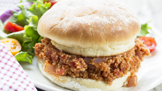 VMidwestern Vegan Sloppy Joe's