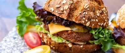 VChickpea Burger Sandwich Patties
