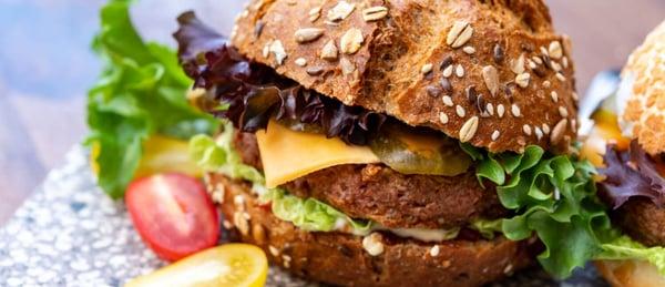 Chickpea Burger Sandwich Patties