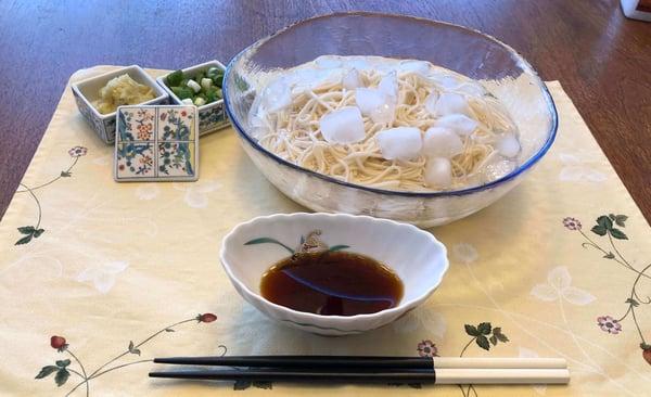 Traditional Japanese Hiyamugi