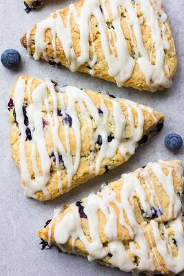 VHow To Make Vegan Blueberry-Almond Scones