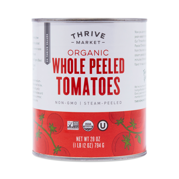 Thrive Market Organic Whole Peeled Tomatoes 28 oz can