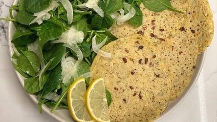 Zeina's Gluten-Free Herbed Chickpea Pancakes