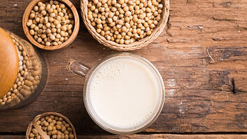 How To Make Easy Homemade Soy Milk