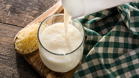 How To Make Rice Milk healthy dairy free altenative
