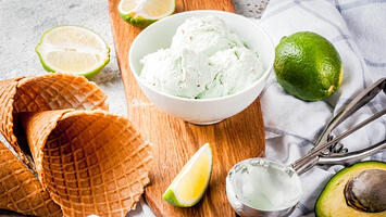 Dairy-Free Coconut Avocado Ice Cream