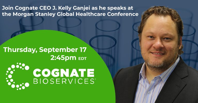 J. Kelly Ganjei to speak at the Morgan Stanley Global Healthcare Conference