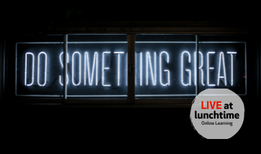 Live at Lunchtime - Digital Storytelling - Oct