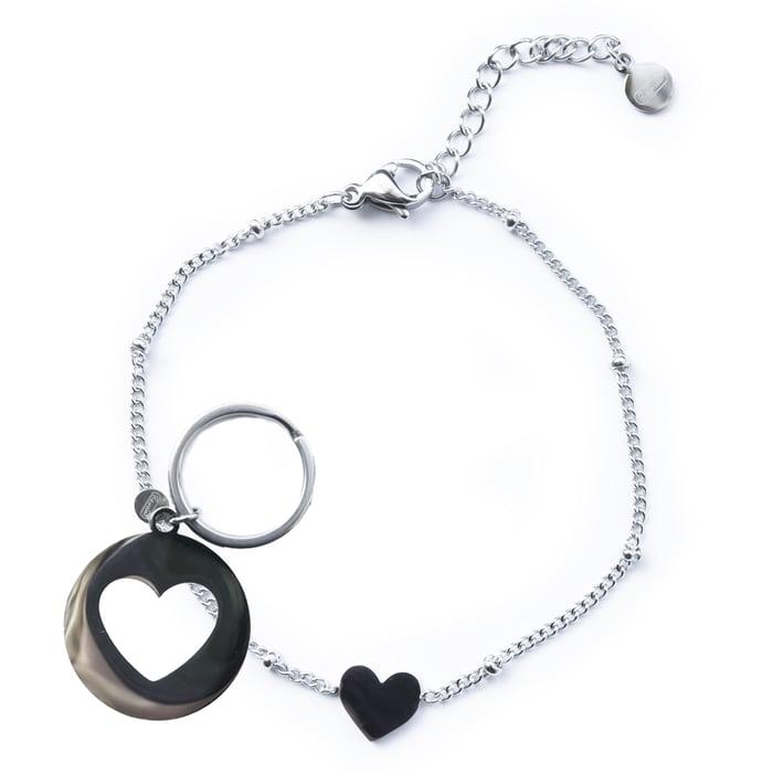 Renske Jewellery armband zilver, penning klein