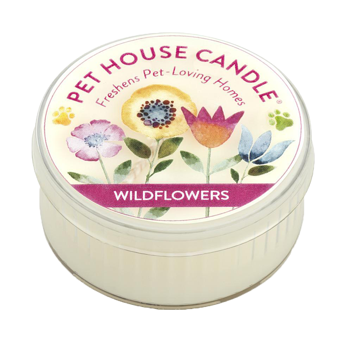 Renske Pet House Candles Wildflowers mini