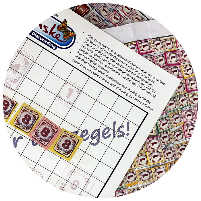 Website Cirkel + Sparen kaarten