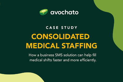 Case study: CMS uses SMS to fill medical shifts more efficiently