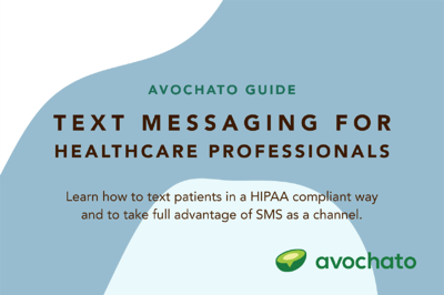 Text messaging guide for healthcare professionals