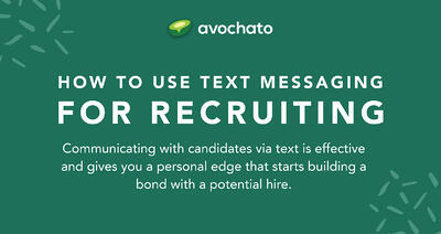 How to use text messages for recruiting (with examples)