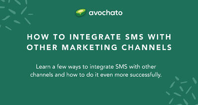 How to integrate SMS with other marketing channels