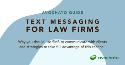 Text messaging guide for law firms