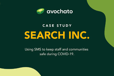 Case study: Using SMS to keep staff and communities safe during COVID-19