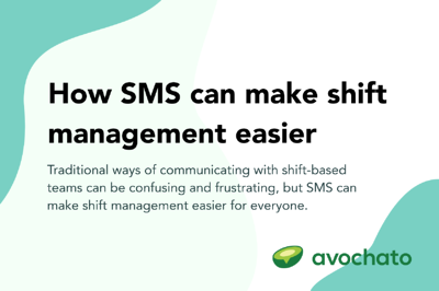 How SMS can make shift management easier