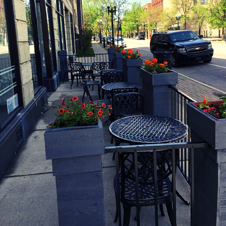 Come Join Us on the patio!