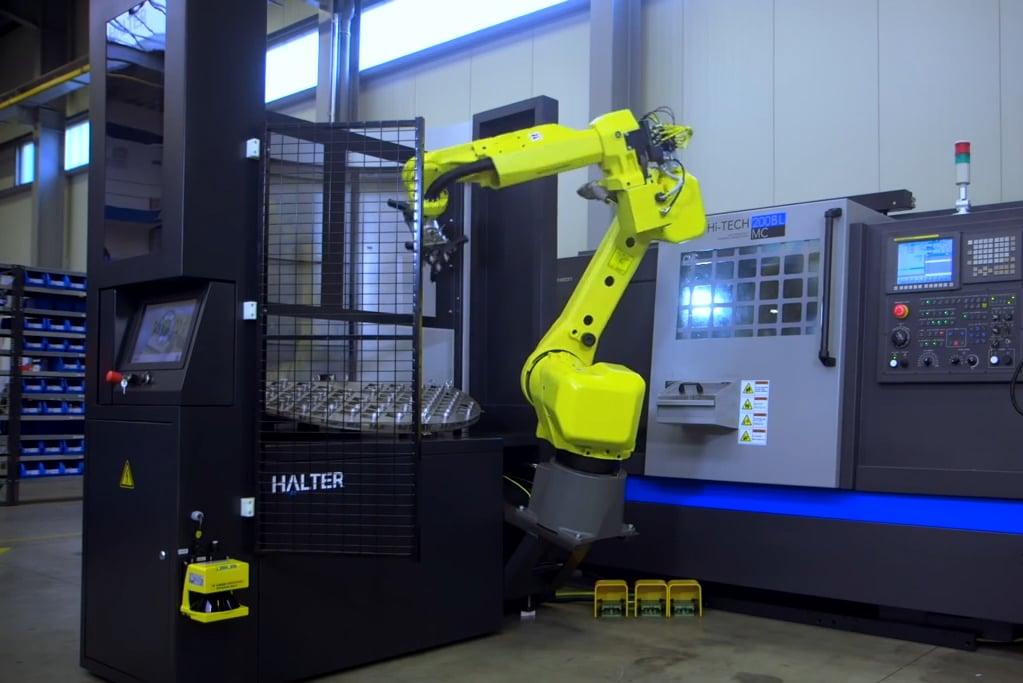CNC Robot Loader