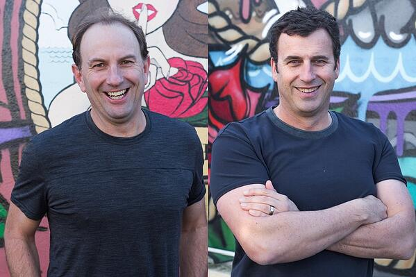 Movac founders Mark Richter and Phil McCraw
