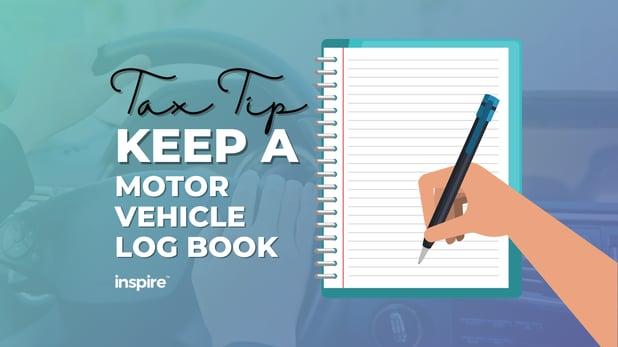 Tax Tip: Keep A Motor Vehicle Logbook