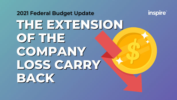 Federal Budget: The Extension of the Company Loss Carry Back