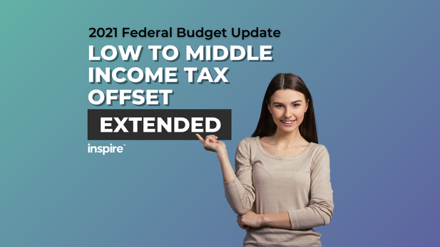 Federal Budget: Low To Middle Income Tax Offset Extended