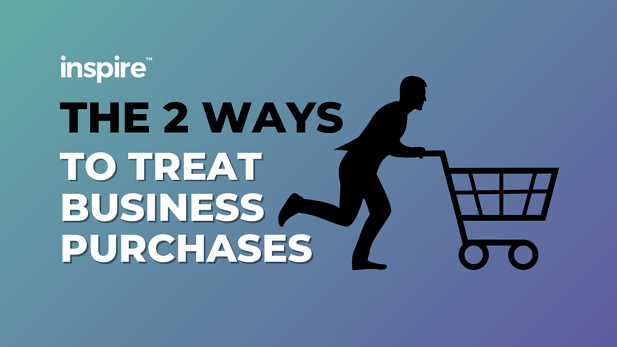 The 2 Ways To Treat Business Purchases