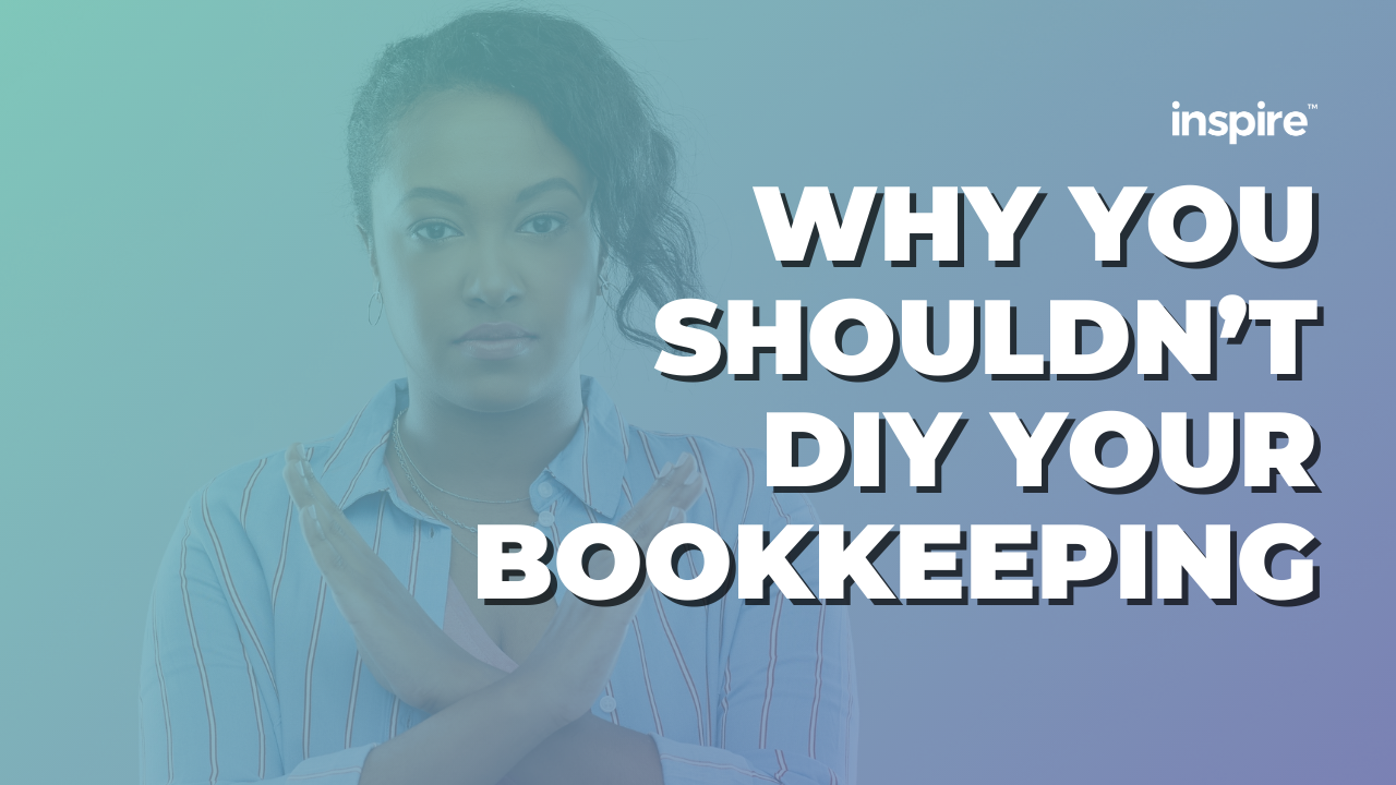 Why You Shouldn't DIY Your Bookkeeping