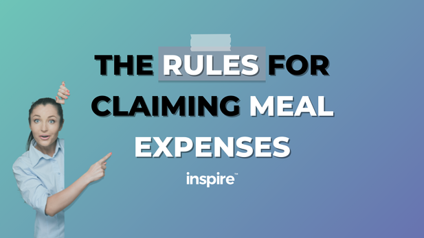 The Rules For Claiming Meal Expenses
