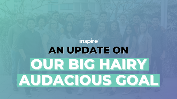 An Update On Our Big Hairy Audacious Goal